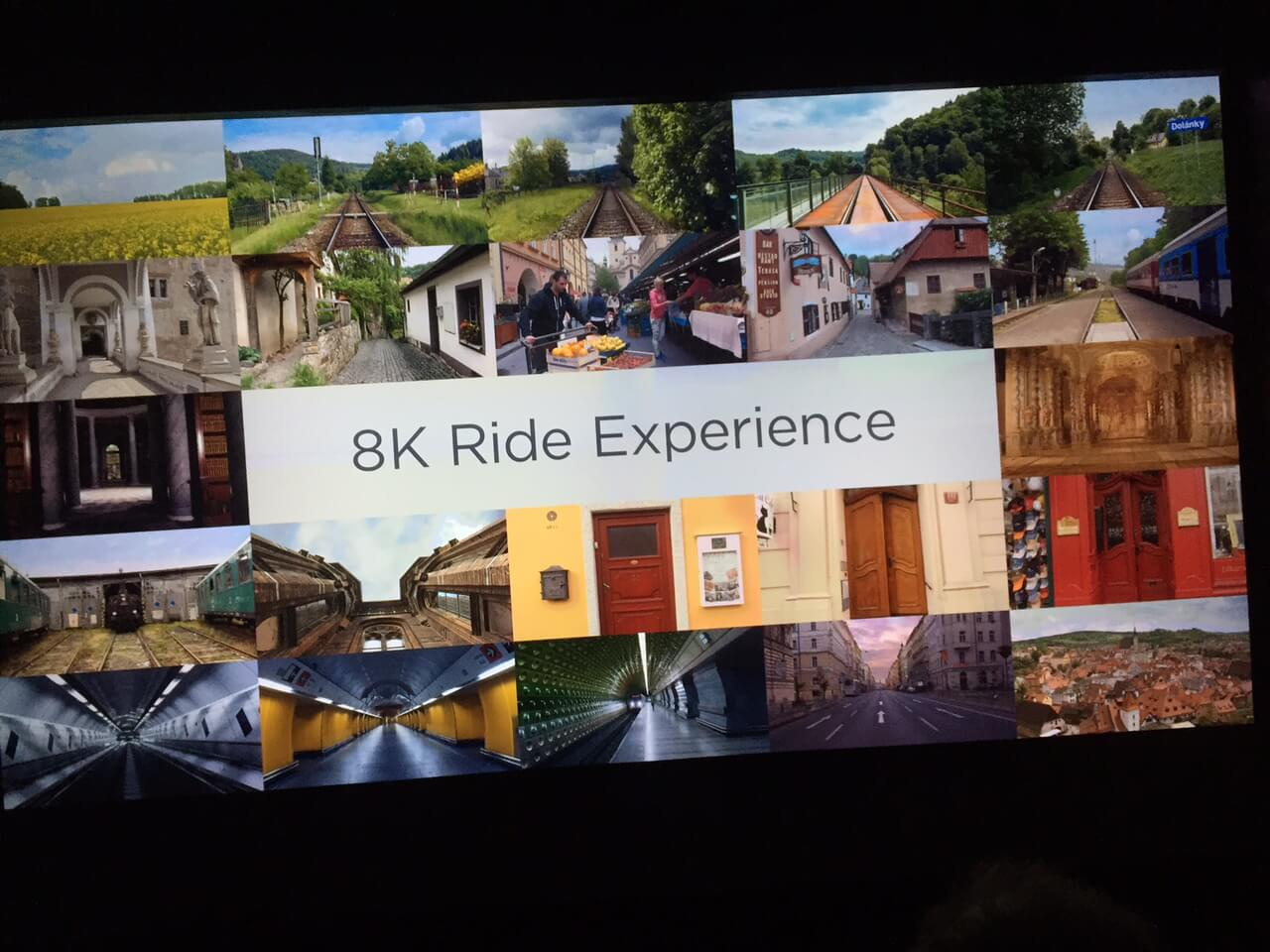 Canon 8K Ride Experience at CES 2016