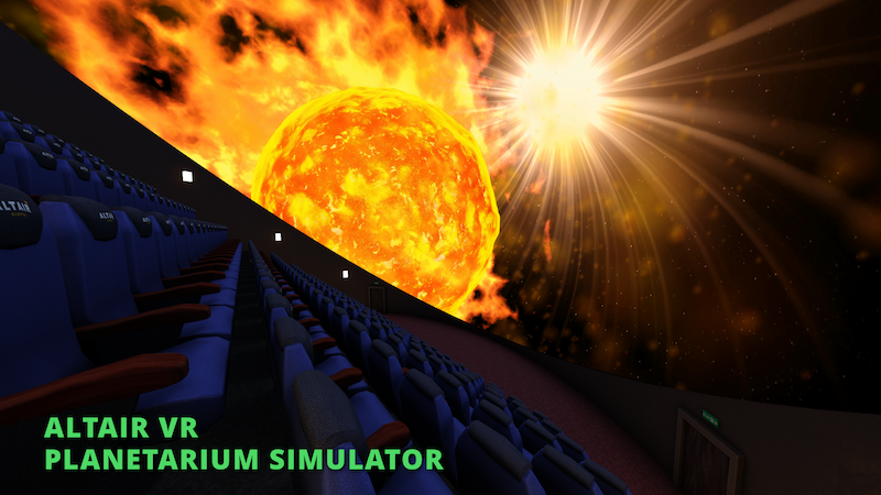 Free Planetarium Simulator by Altair VR