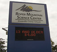 Image of Roper Mountain Science Center