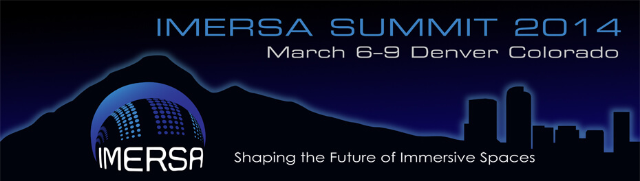 2014 IMERSA Summit Banner - Fulldome Event