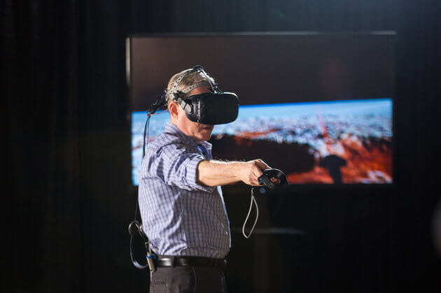 Alan Stern's VR experience