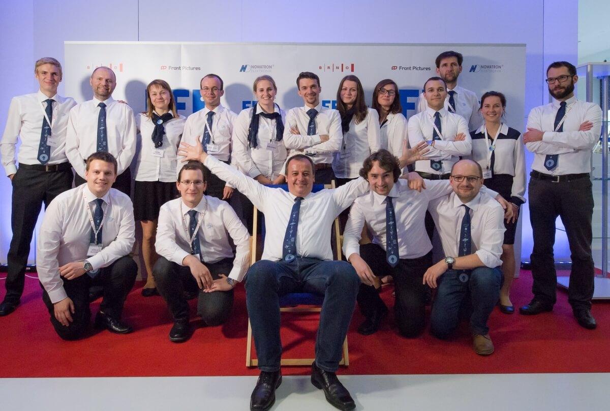 Team members of the Brno Planetarium