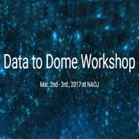 Data to Dome Workshop 2017