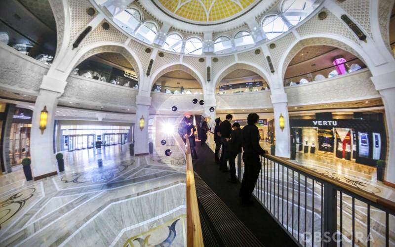 Dubai 360: Spherical Projection Theater