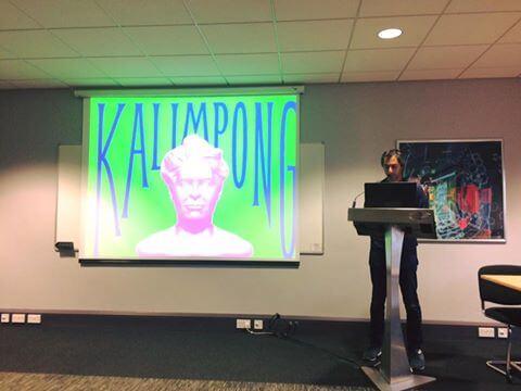 Shezad Dawood presenting Kalimpong