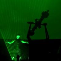 Live Laser Planetarium Show in Russia