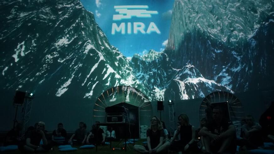 MIRA festival visitors