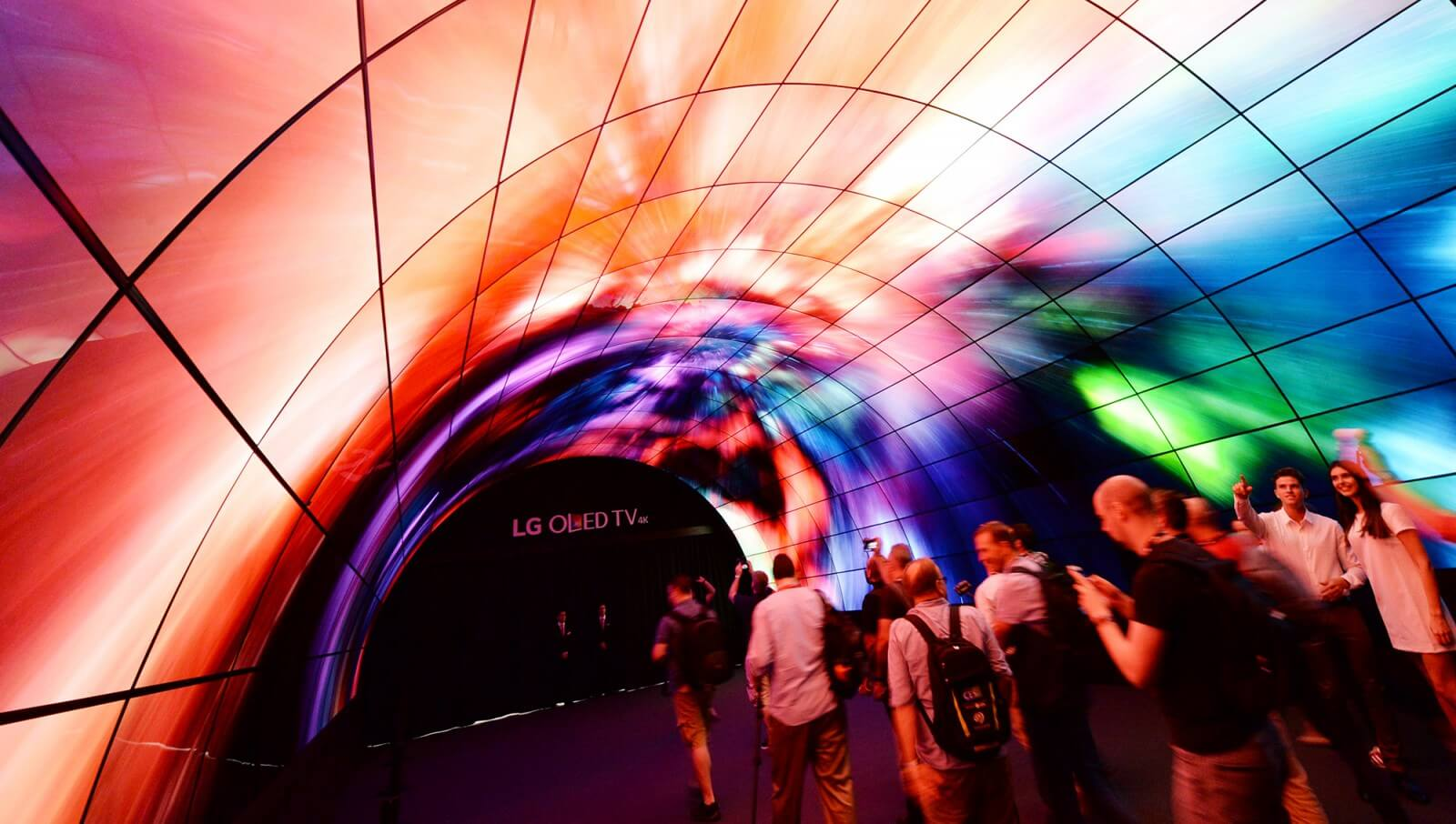 OLED tunnel visitors
