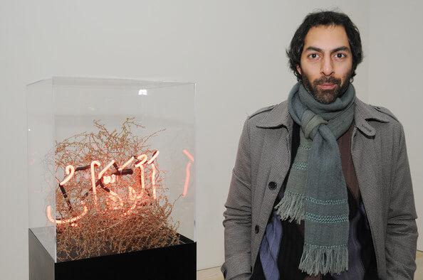 Shezad Dawood's exhibition