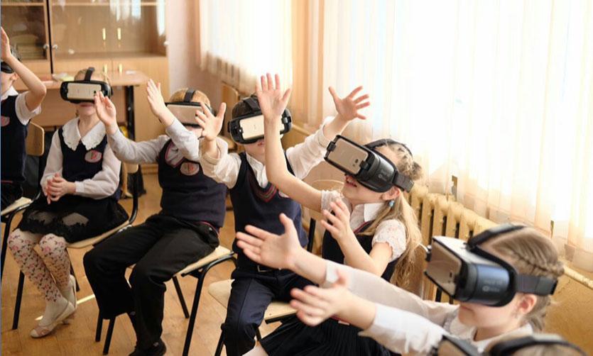 VR technologies at school