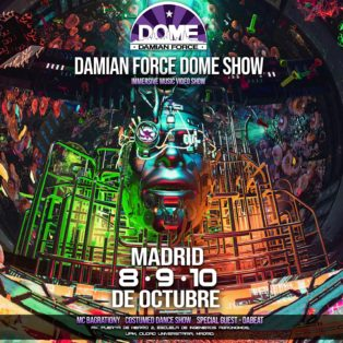 img logo fulldome event Damian Force Dome Show - DOMO 360 Madrid