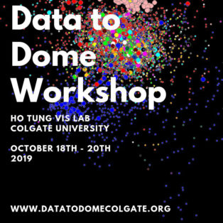 img logo fulldome event Data to Dome Workshop @ Colgate University