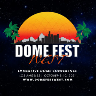 img logo fulldome event Dome Fest West