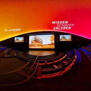 img logo fulldome organization Experimenta Heilbronn