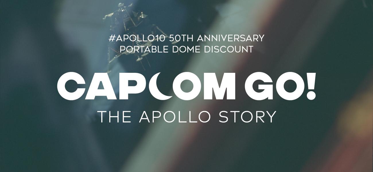CAPCOM GO! Portable dome discount offer – Fulldome News