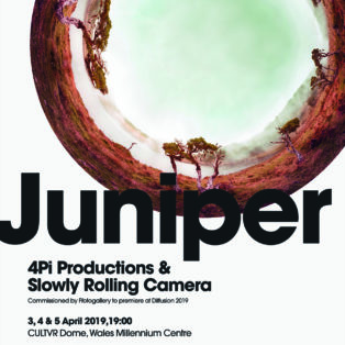 img news fulldome Juniper, live jazz and immersive visuals
