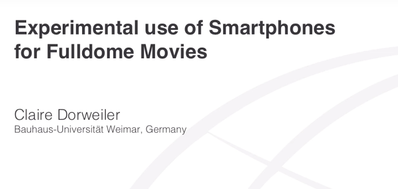 img news fulldome video-experimental-use-of-smartphones-for-fulldome-movies