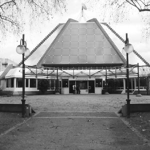 The Mannheim Planetarium (2008) - B/W