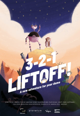 img poster fulldome show 321-liftoff