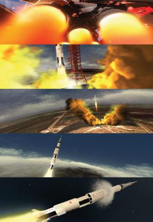 img poster fulldome show Apollo 11 Saturn V Launch Clip