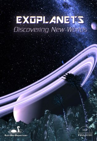 img poster fulldome show EXOPLANETS - Discovering New Worlds