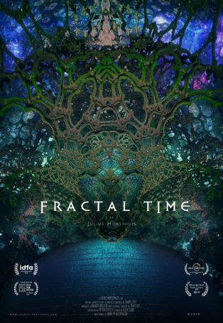 img poster fulldome show Fractal Time