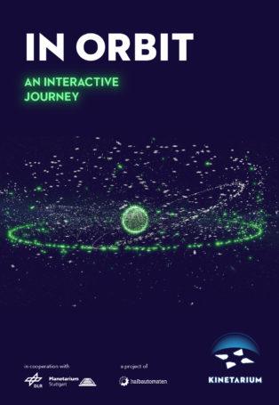 img poster fulldome show Kinetarium – In Orbit