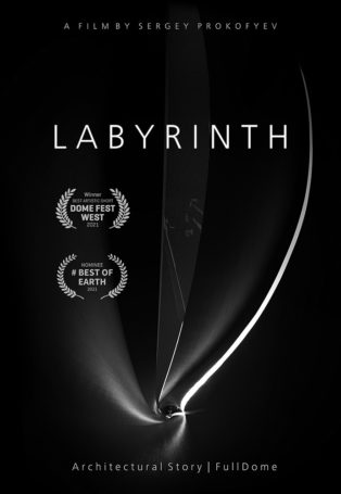 img poster fulldome show LABYRINTH