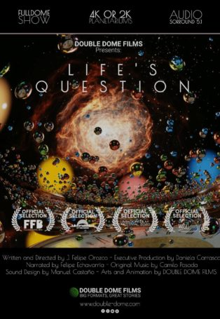 img poster fulldome show Life's Question
