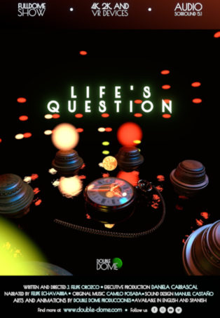 img poster fulldome show lifes-question