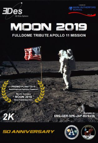 img poster fulldome show Moon 2019