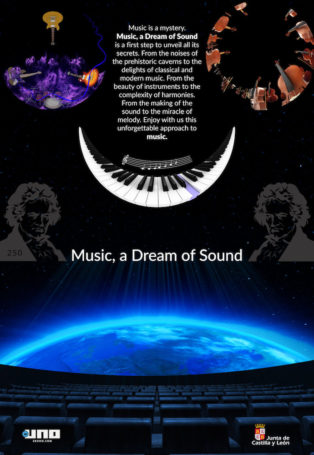 img poster fulldome show Music, a Dream of Sound