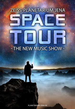 img poster fulldome show Space Tour