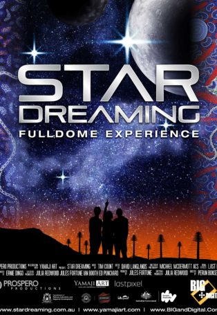 img poster fulldome show star-dreaming