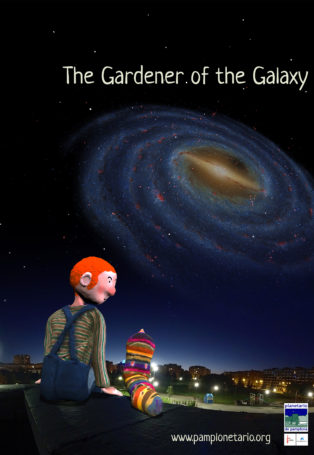 img poster fulldome show The gardener of the Galaxy