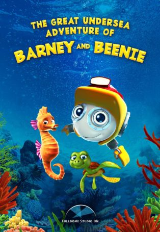 img poster fulldome show the-great-undersea-adventure-of-barney-and-beenie