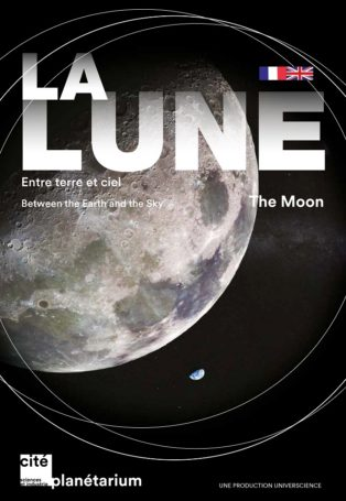 img poster fulldome show the-moon