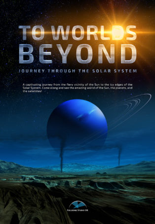 img poster fulldome show To Worlds Beyond - Journey Through The Solar System