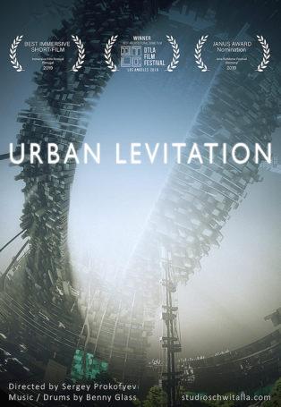 img poster fulldome show Urban Levitation
