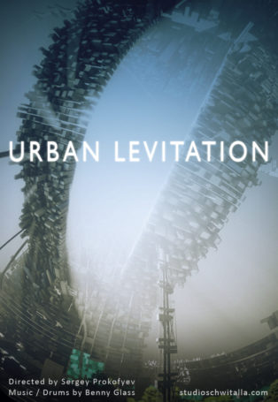 img poster fulldome show URBAN LEVITATION