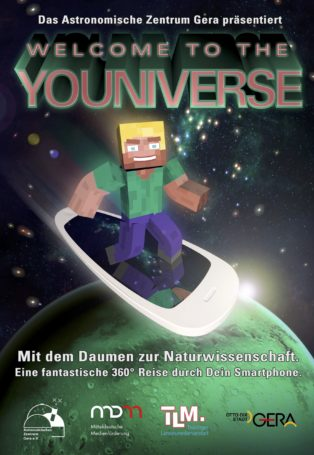 img poster fulldome show welcome-to-the-youniverse-with-your-thumb-to-science