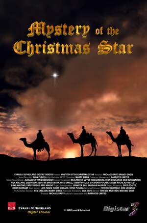 mystery of the christmas star fulldome show - A Christmas Star Movie