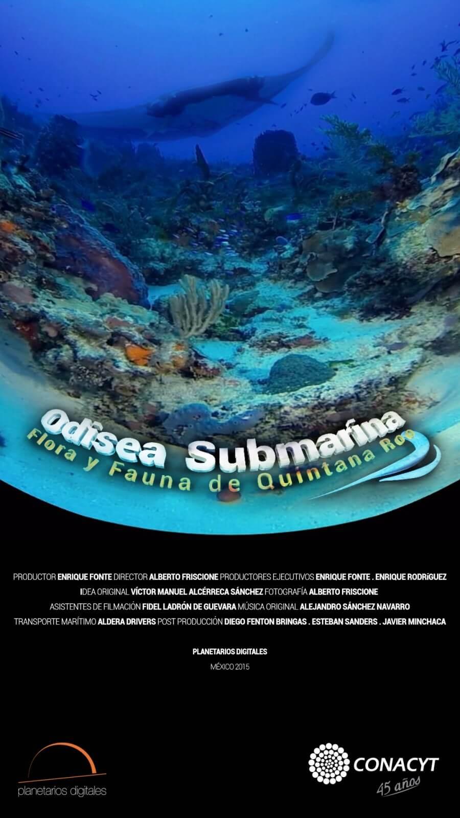 Submarine Odyssey: Flora and fauna of Quintana Roo
